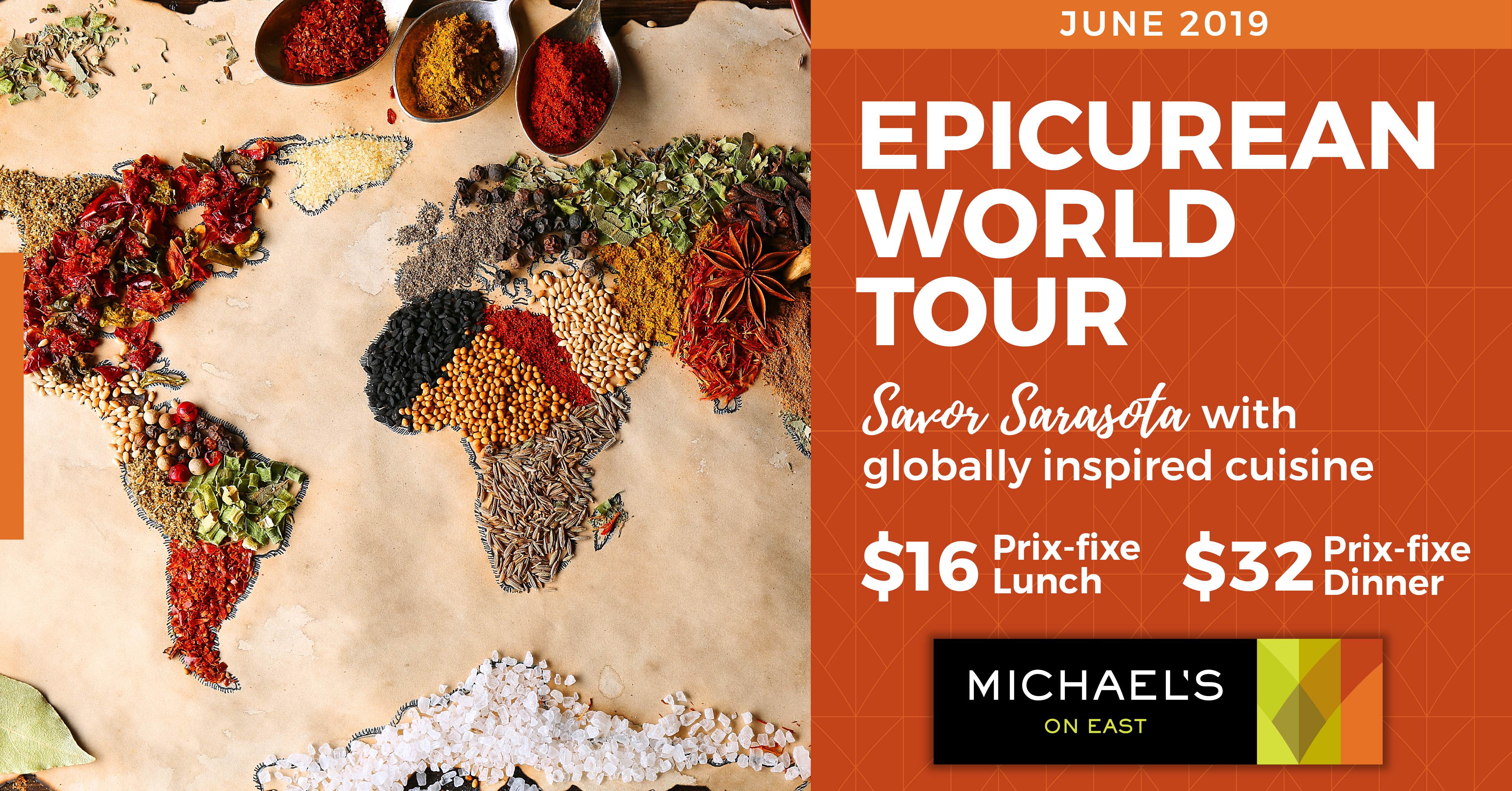 Travel Around The World Without Leaving Your Table This June!