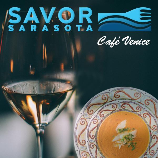 Café Venice Participating in Savor Sarasota