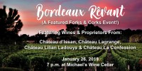 **SOLD OUT** Bordeaux Rêvant Wine Dinner at Michael's On East