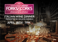 SOLD OUT Michael's On East Italian Forks & Corks Wine Dinner