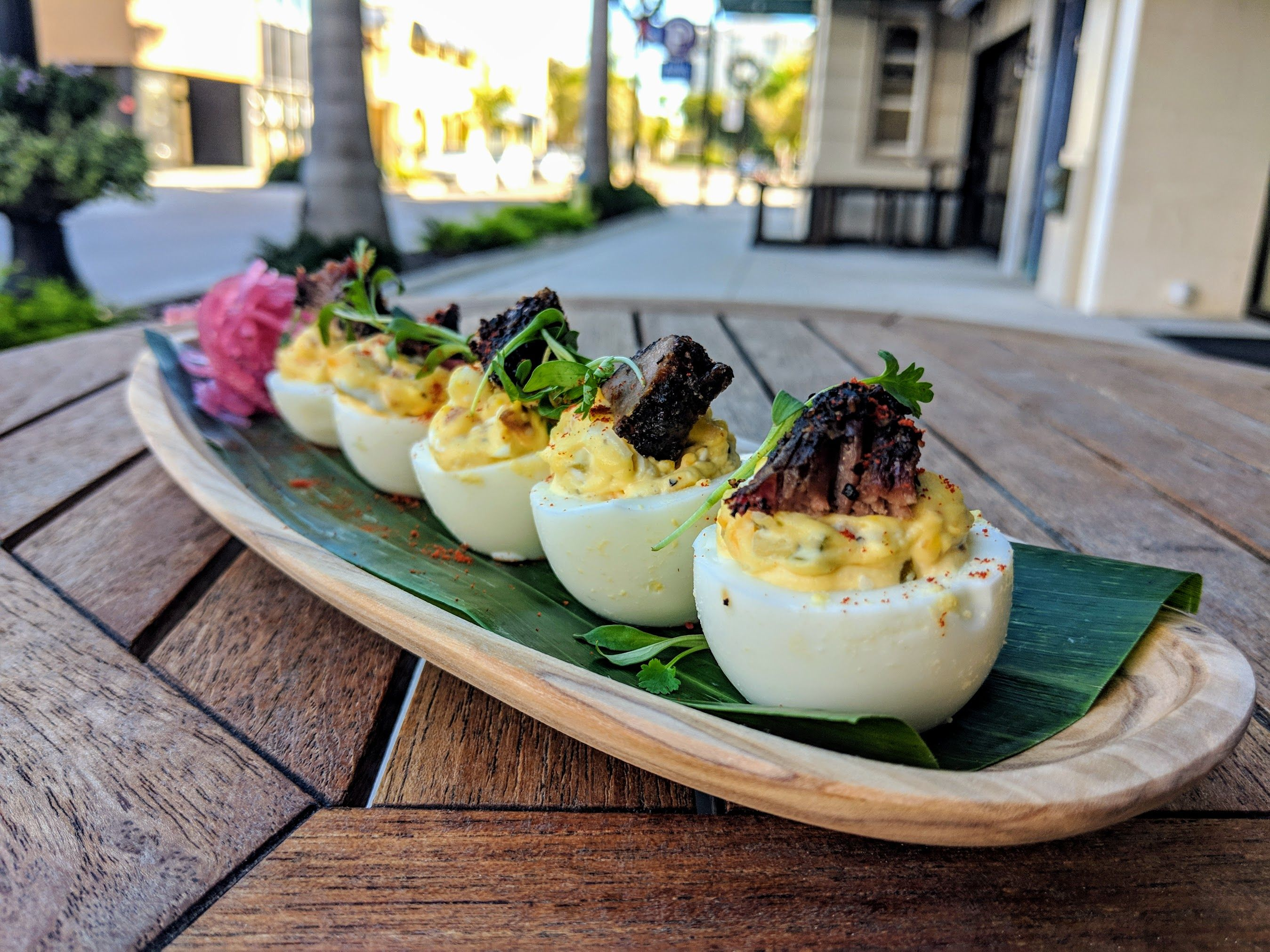 BSM Food Deviled Eggs