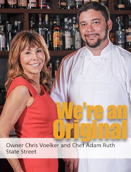 State Street Owner Chris Voelker and Chef Adam Ruth