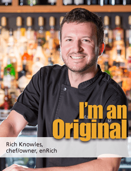 enRich Rich Knowles chef owner