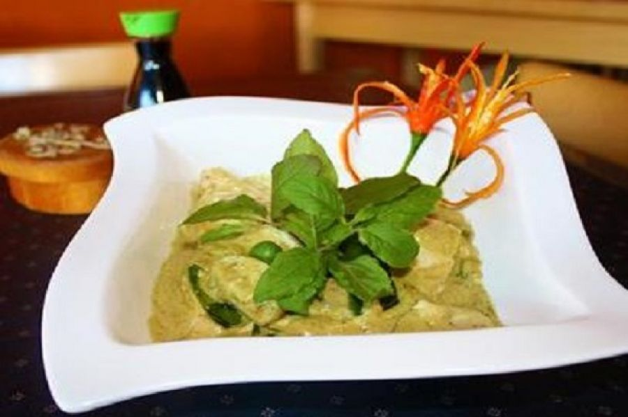 Green Curry - Drunken Poet Café
