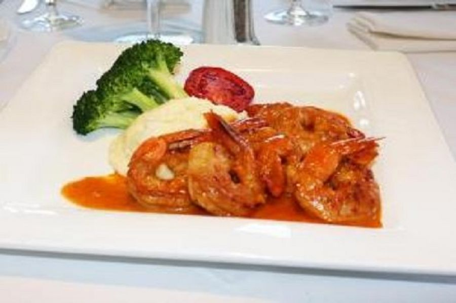 Shrimp Piri Piri – The Bijou Café